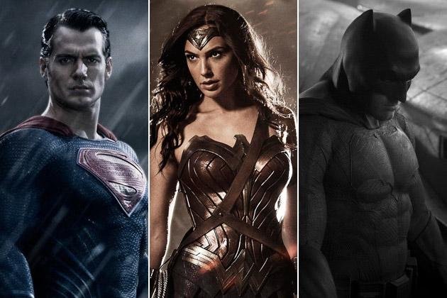 Henry Cavill viverá pela segunda vez o Superman, enquanto Gal Gadot e Ben Affleck fazem sua primeira aparição como Mulher Maravilha e Batman (Foto: Reprodução)