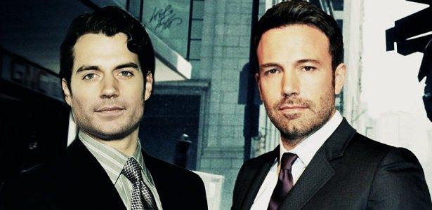 Henry Cavill e Ben Affleck, os dois vão entrar em contronto como Superman e Batman (Foto: Reprodução)
