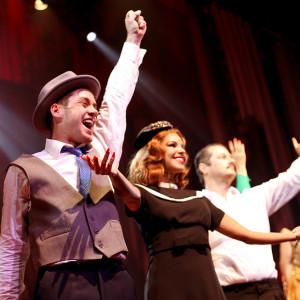 Elenco da peça (Foto: Nair Barros - ClaCrideias)