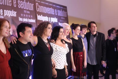 elenco do filme (Foto: Nair Barros / ClaCrideias)