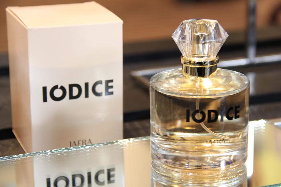 Iódice lançou nesta terça (10) novo perfume (Foto: Nair Barros)