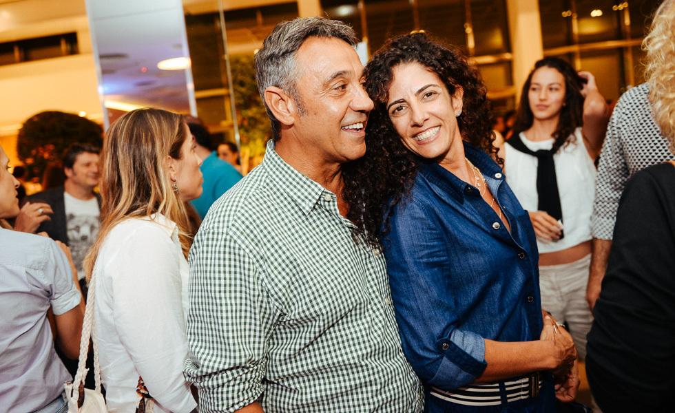Marcelo Faisal e Audrey Ammar (Foto: Divulgação)